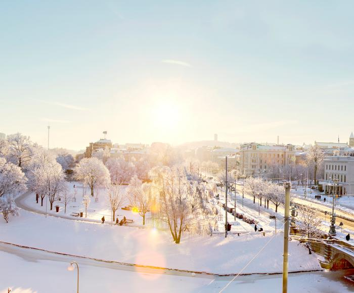 Gothenburg in winter
