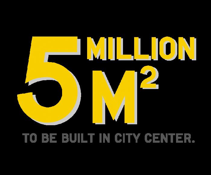 5 million m2